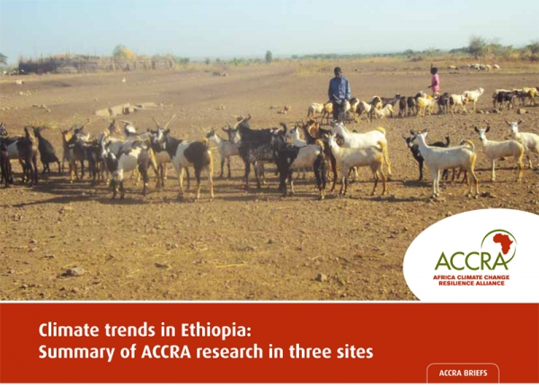 Climate trends in Ethiopia: Summary of ACCRA research in three sites