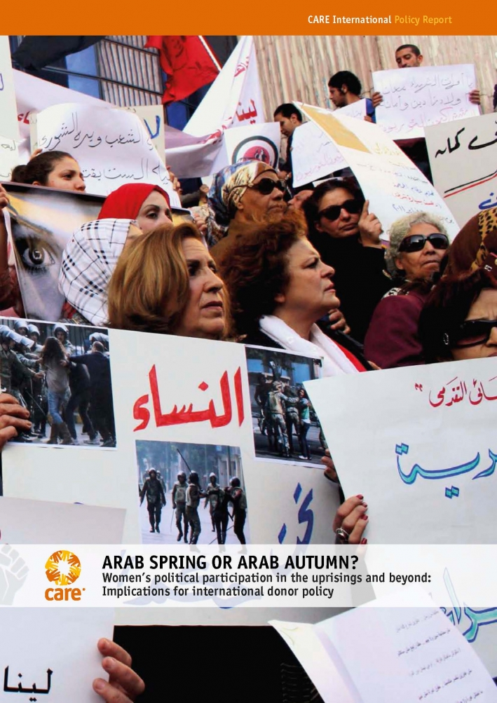 Arab Spring or Arab Autumn? Women's political participation in the uprisings and beyond: Implications for international donor policy