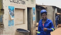 Charity Banda, a 23-year-old supervisor for Chipata Garbage Control Enterprise
