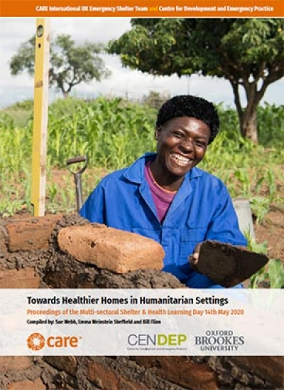 Towards healthier homes in humanitarian settings