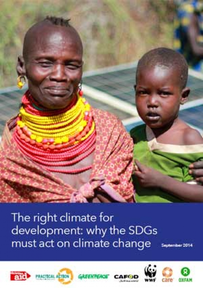 The right climate for development: Why the SDGs must act on climate change