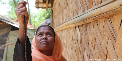 Shelter in Cox's Bazar: A refugee-led approach to safe shelter