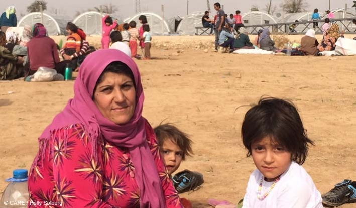 Fidan, a mother of 11 children, fled to Turkey from Kobane in northern Syria