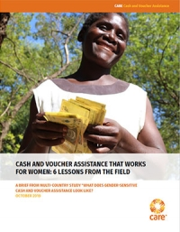 Cash and voucher assistance that works for women: 6 lessons from the field