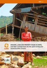 Housing, land and property issues in Nepal and their consequences for the post-earthquake reconstruction process