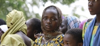 A young woman in Fada village, Niger