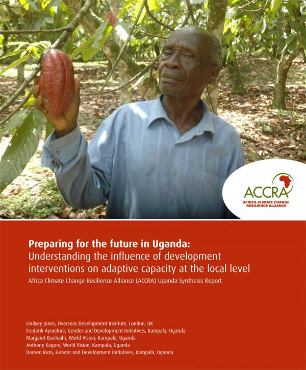 Preparing for the future in Uganda: Understanding the influence of development interventions on adaptive capacity at the local level
