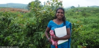 Rita, member of a Community Development Forum at a tea plantation in Sri Lanka