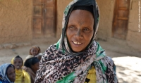 Kedija Abra Umer, leader of a village savings group in East Hararghe, Ethiopia, an area which has been badly affected by drought