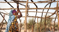 Rebuilding a home after Cyclone Sagar in Gargaara, Somalia