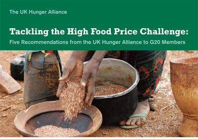 Tackling the High Food Price Challenge