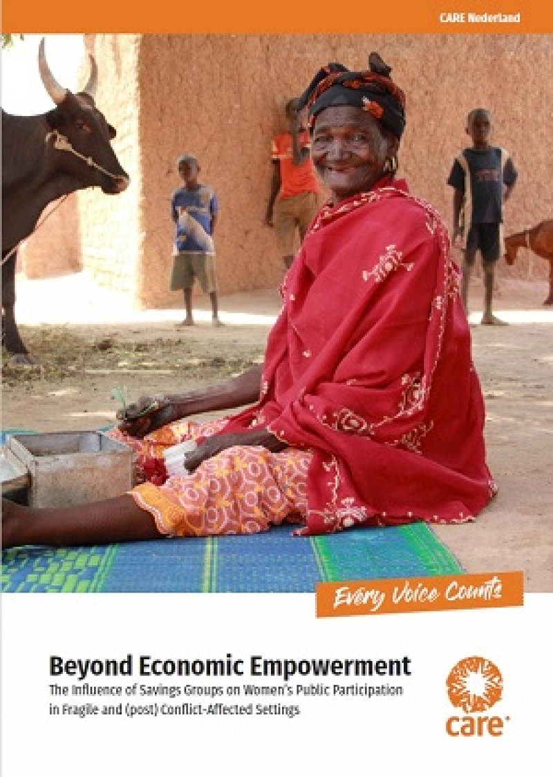 Beyond economic empowerment: The influence of savings groups on women's public participation in fragile and (post) conflict-affected settings