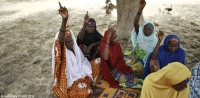 Members of a CARE-supported VSLA group in Kagadama village in Niger