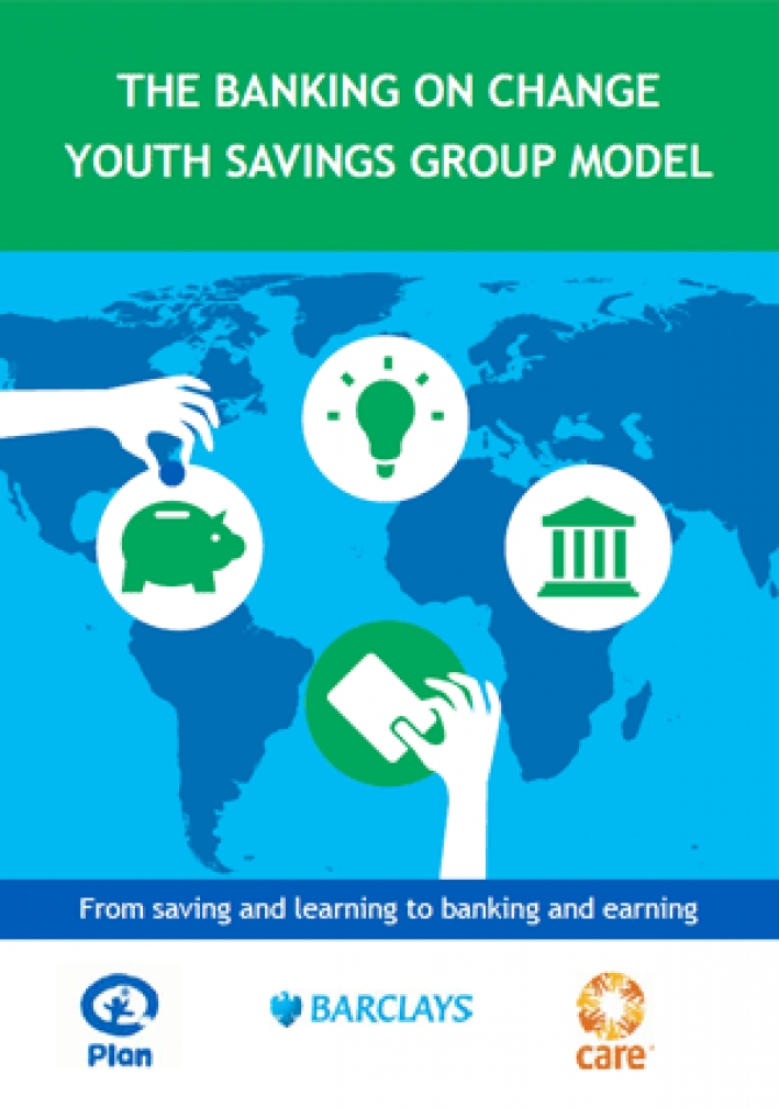 The Banking on Change youth savings group model: From saving and learning to banking and earning