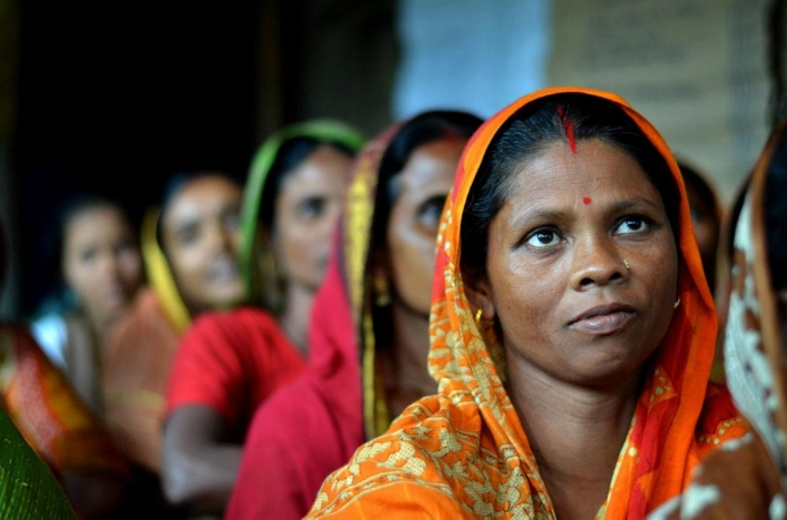 Bangladeshi women taking part in CARE's Strengthening Dairy Value Chains programme