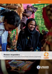 Women responders: Placing local action at the centre of humanitarian protection programming