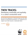 Twin Tracks: Developing sustainably and equitably in a carbon-constrained world