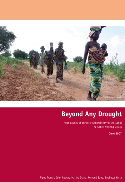 Beyond Any Drought - Root causes of chronic vulnerability in the Sahel