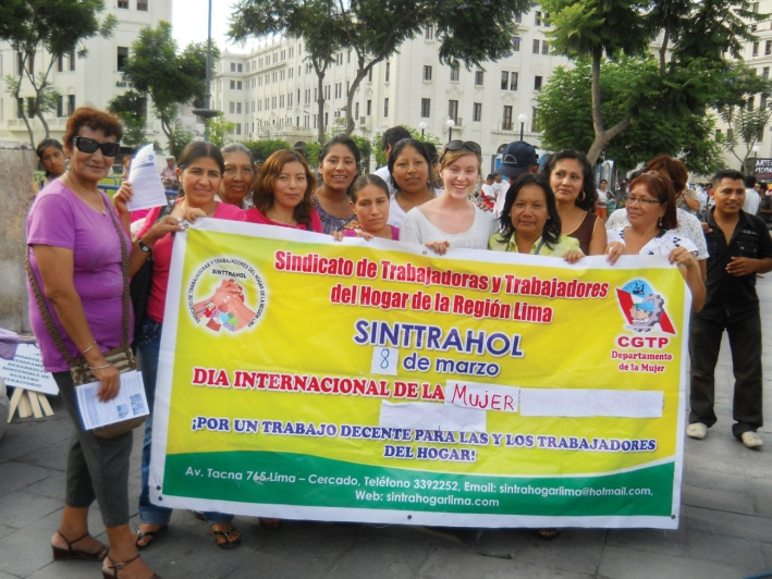 Invitation to launch of report on domestic workers and the ratification of ILO Convention 189