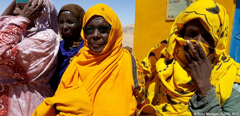 Women in Somaliland during the 2017 drought