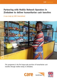 Partnering with Mobile Network Operators in Zimbabwe to deliver humanitarian cash transfers