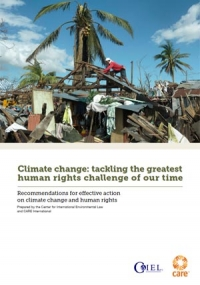 Climate change: Tackling the greatest human rights challenge of our time