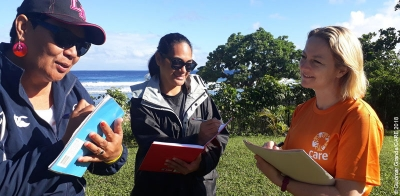 Localisation in emergency response: What CARE learned from our cyclone response in Tonga