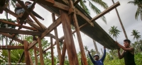 Mutuality, trust, and communications are key components to a good partnership - but how do we turn the rhetoric into reality? (Photo: a community in the Philippines rebuilds a house damaged by Typhoon Haiyan)