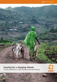 Insuring for a changing climate - A review and reflection on CARE's experience with microinsurance