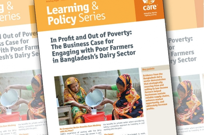In Poverty and Out of Profit: the business case for engaging with poor farmers in Bangladesh's dairy sector