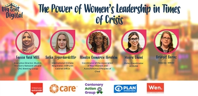 Join us to discuss The Power of Women's Leadership in Crisis