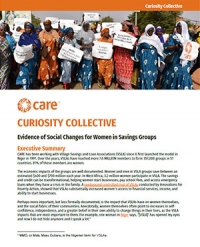 Curiosity Collective: Evidence of social changes for women in savings groups