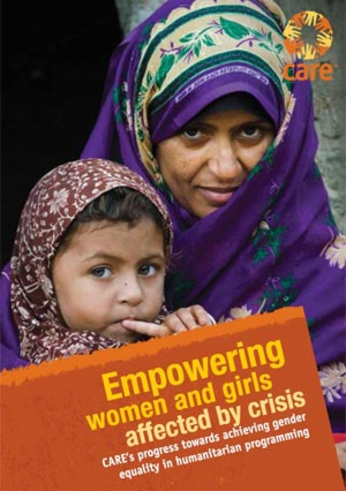 Empowering women and girls affected by crisis
