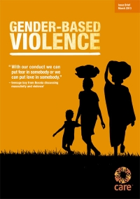 Gender-Based Violence (Issue brief)
