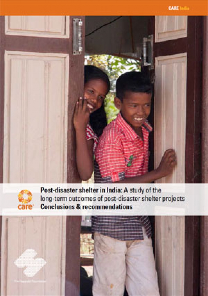 Post-disaster shelter in India (Summary): Conclusions and recommendations