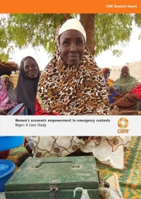 Women's economic empowerment in emergency contexts – Niger: A Case Study