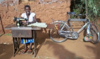 Daphrose, a participant in the POWER Africa project in Burundi