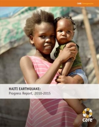 Haiti earthquake: Progress report, 2010-2015