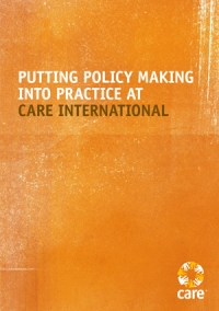 Putting policy-making into practice at CARE International