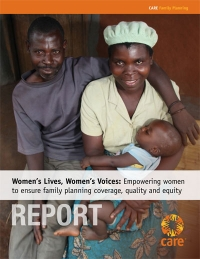 Empowering women to achieve family planning coverage, quality and equity