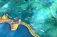 3D mapping of the coastlines of Dingalan in the Philippines