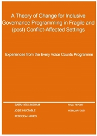 Every Voice Counts: Domains of change research