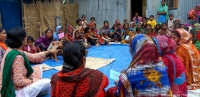 A smallholder farmers' group in Bangladesh set up by CARE