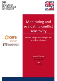 Monitoring and evaluating conflict sensitivity – methodological challenges and practical solutions